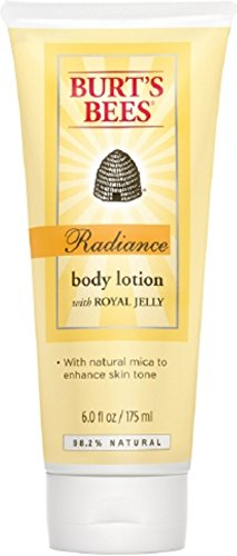 Burt's Bees Radiance Body Lotion with Royal Jelly 6 oz (Pack of 4) (Jelly Body compare prices)