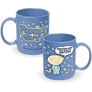 "Family Guy Stewie ""Whatever Helps You Sleep At Night, Bitch"" Mug by ICUP"
