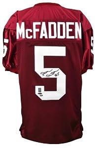 Darren McFadden Autographed Jersey - Arkansas Razorbacks Custom - & McFadden Holo... by Sports+Memorabilia