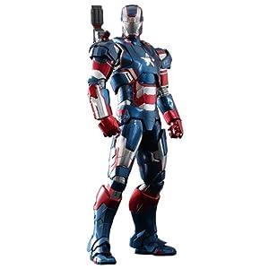 Hot Toys - Iron Man 3 figurine MMS Diecast 1/6 Iron Patriot 30 cm