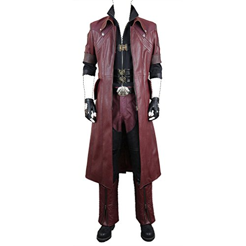 Devil May Cry 4 cosplay Costume Dante movie ver. DX costume set Medium (Devil May Cry Dante Cosplay compare prices)