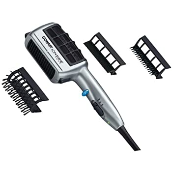 The Ionic Styler 1875-watt styler features a delivery system that locks your favorite hair style into place. with 2 heat and 2 speed settings and a hinged filter, any style is your style. with convenient dual voltage for your worldwide travels and a ...