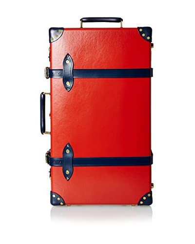 "Globe-Trotter 26"" Centenary Trolley Case, Red/Navy"