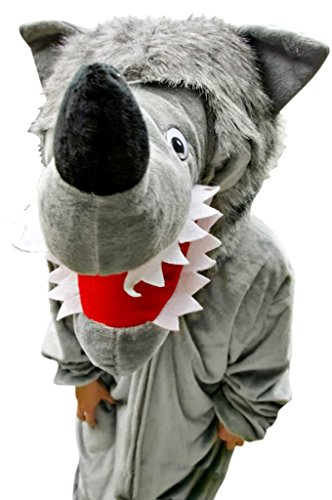 Fantasy World Men's F49 Wolf Costume (8/M-18/XL)