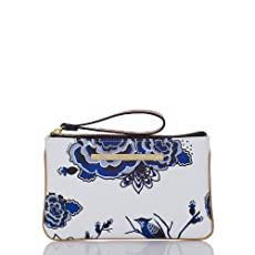 Sally Wristlet<br>Blue Delft