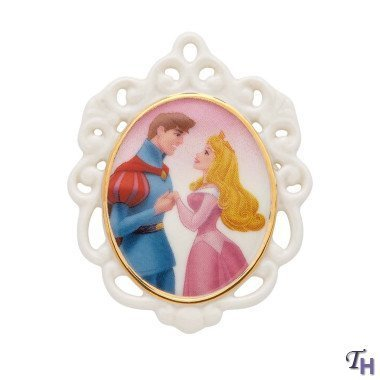 Lenox Sleeping Beauty and The Prince Sweet Romance Pin Figurine by Lenox