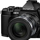 OLYMPUS ミラーレス一眼 OM-D E-M5 MarkII 12-50mm EZレンズキットブラック E-M5 MarkII 12-50mm EZ LK BLK E-M5MarkII1250LKBLK