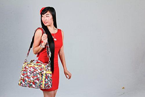 Ju-Ju-Be Hello Kitty Collection B.F.F. Convertible Diaper Bag, Tick Tock - 1