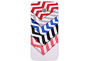 Make My Print Printed Multicolor Hard Back Cover For InFocus M350