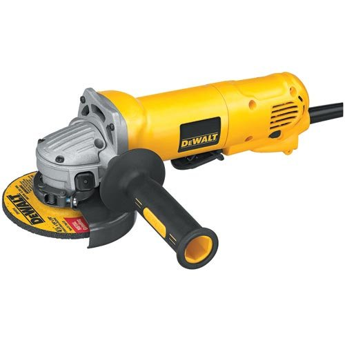 """Dewalt D28402 4-1/2"""" Small Angle Grinder With 10 Amp Motor And 11,000 Rpm, Na"""