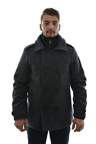 Petrol Industries -  Cappotto  - Uomo grigio XXL