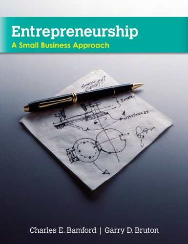 Entrepreneurship: A Small Business Approach