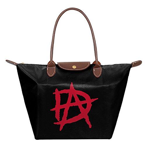 Bobby Dean Wrestler Ambrose Small Nylon Mini Shopping Beach Handbag Shoulder Tote Black (Dean Davidson Jewelry compare prices)