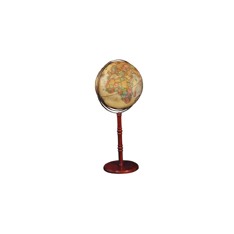 Commander Ii 16 Antique Ocean Floor Globe Or Desk Top Globe On Popscreen