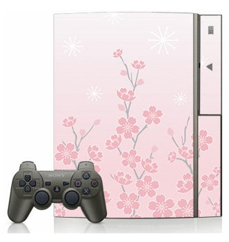 Pink Cherry Blossom Skin for Sony Playstation 3 Console