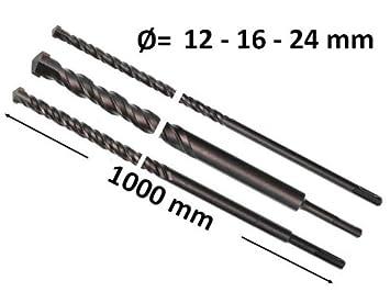Betonbohrer Set Sds Plus Drill 12 16 25 X 1000mm Hammerbohrer