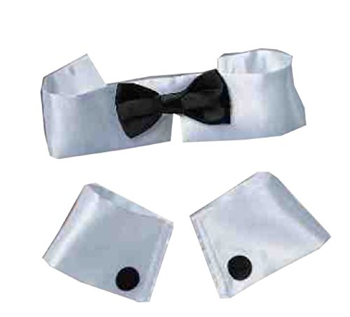 Forum Women's Costume Collar Bow Tie and Cuff Set