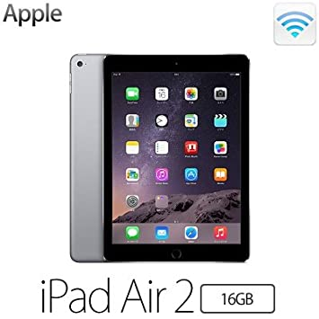 Apple iPad Air 2 Wi-Fiモデル 16GB MGL12J/A