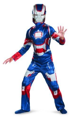 Marvel Iron Man 3 Patriot Boys Classic Costume, 3T-4T (Iron Man Costume 4t compare prices)