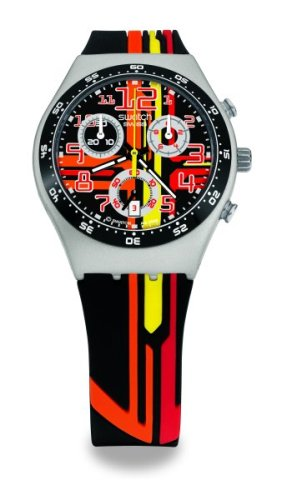 Swatch Sign Out Irony Chrono Watch YMS4009