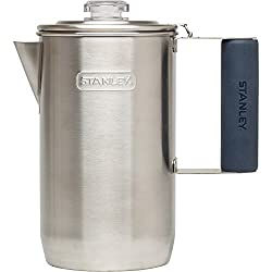 Stanley 6-Cup Adventure Percolator, Stainless Steel, 1.1 quart made by Pacific Market International
