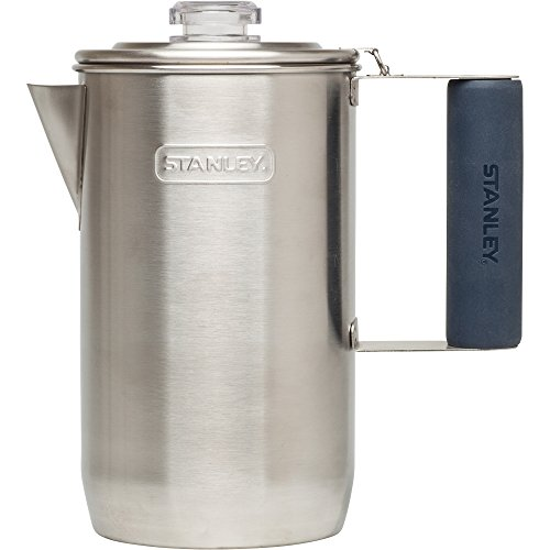 Stanley 6-Cup Adventure Percolator, Stainless Steel, 1.1 quart (Campfire Percolator Coffee compare prices)