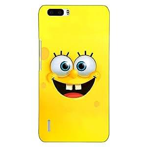 Jugaaduu Spongebob Back Cover Case For Honor 6 Plus