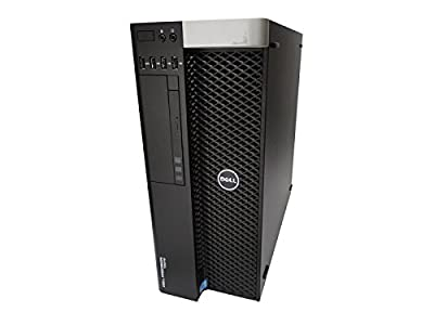 Dell Precision T5610 Workstation, 2x Intel Xeon E5-2670 2.6GHz Eight Core CPU's, 32GB memory, 500GB hard drive, NVIDIA Quadro 4000, Windows 7 Professional Installed