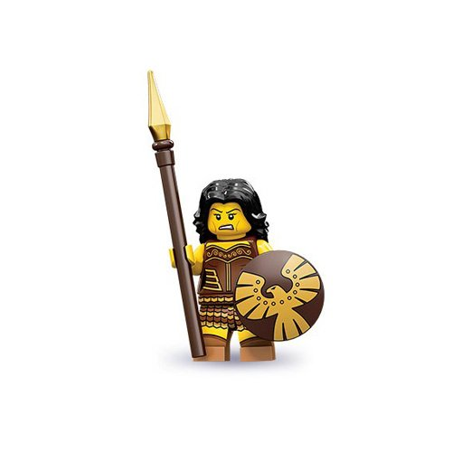 Lego Series 10 Warrior Woman Mini Figure - 1