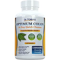 Optimum Colon: 14 Days Quick Cleanse to Support Detox, Weight Loss & Increased Energy Levels