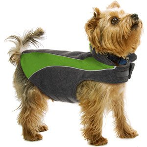 Kakadu Pet Explorer Fleece Reflective Dog Coat, 14