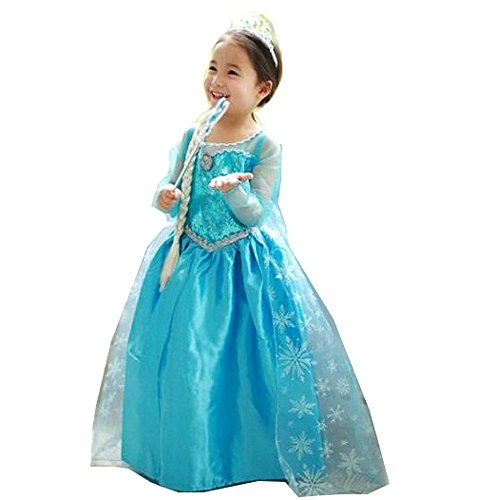 Piggy2Gether Girl Princess Pageant Dresses Gown Princess Christmas Costume, 3T