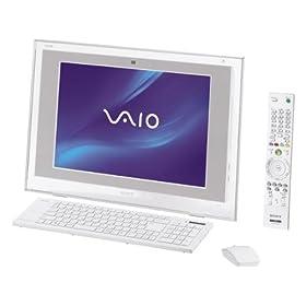 【クリックで詳細表示】ソニー(VAIO) VAIO typeL LM50DB Office Personal 2007 プリインストールモデル VGC-LM50DB: パソコン・周辺機器