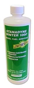 Winter 1000 Diesel Fuel Additive, Pint Bottle 16 oz., Individual Bottles, Treats 120 gallons diesel fuel per Bottle
