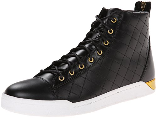 Diesel Men's Tempus Diamond Fashion Sneaker,Black,11 M US