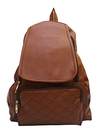 Vintage Stylish Ladies Expandable Backpacks Handbags Chocolate Color(bag 144)