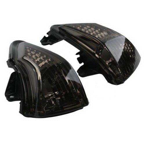 Black Lens Turn Indicator Signal Winker For Kawasaki ER-6N ER-6F ER-6R 2009-2011 (Ford Ranger Tow Mirrors compare prices)