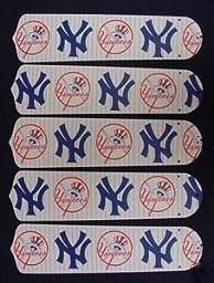 Ceiling Fan Designers 52SET-MLB-NYY MLB York Yankees Baseball 52 In. Ceiling Fan Blades Only
