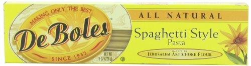 DeBoles Spaghetti Pasta, 8 Ounce (Pack of 12) (Jerusalem Artichoke Pasta compare prices)