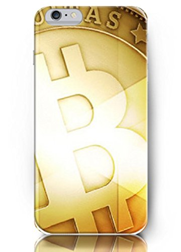 Ouo New Unique Creative For 5.5 Inch Iphone 6 Plus Case Hard Cover With Design Of Golden Bitcoin