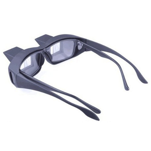 AGPtek® Bed Prism Spectacles Prism Eye Glasses Bed Reading Lying Down Watching TV Glasses