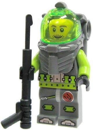 LEGO Atlantis Diver Minifig 4 - Lance Spears - 1