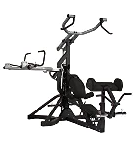 Body Solid SBL460 PowerLift Freeweight Leverage Gym