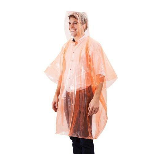 Renner Equipment Renner Notfall Regenponcho Einheitsgr&#246;&#223;e, orange, 1