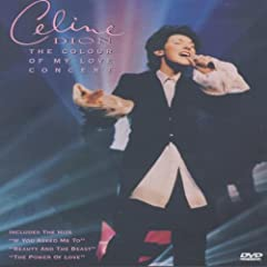 Céline Dion : The Color Of My Love Concert - DVD