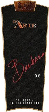 C.G. Di Arie 2009  Flagship Wines Barbera, Sierra Foothills 750mL
