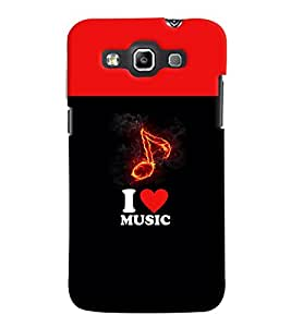 PRINTVISA Abstract Music Case Cover for Samsung Galaxy Grand Quattro