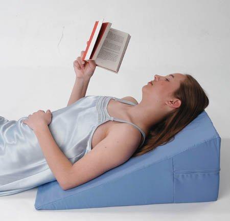 Alex Orthopedics 5013-07BL 24' X 25' X 7' Bed Wedge 7' Blue