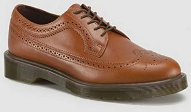 Dr. Martens Mens 3989 Brogue Shoe. English Tan. UK Size: 13