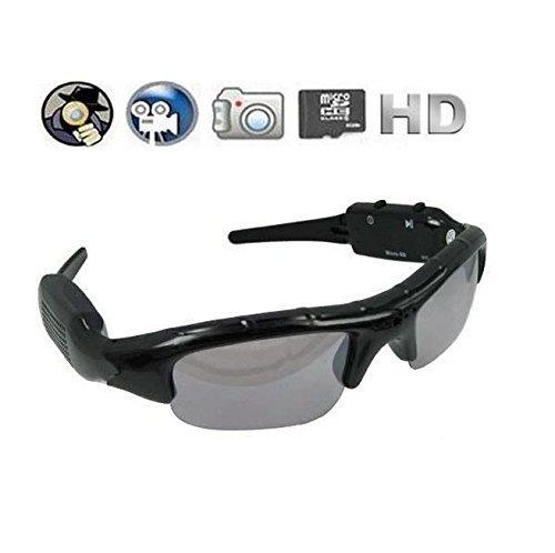 ZECOLIFE Pinhole Hidden Video Recorder DVR Sunglasses Camera